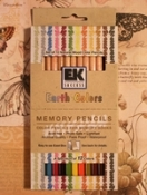 Earth Colors Memory Pencils